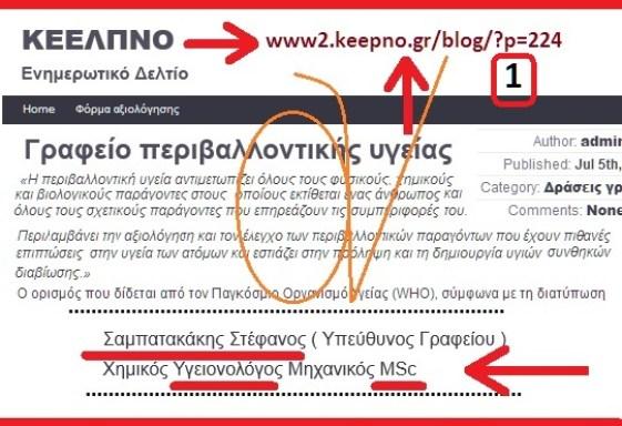 ΣΑΜΠΑΤΑΚΑΚΗΣ ΣΤΕΦΑΝΟΣ - ΚΕΕΛΠΝΟ -ΥΓΕΙΟΝΟΛΟΓΟΣ MSc
