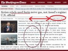 Οι Αμερικάνοι γνωρίζουν ΕΠΙΣΗΜΑ από αρχές Μαϊου, ότι οι ισλαμοφασίστες εισβολείς χρησιμοποιούν τα χημικά….
