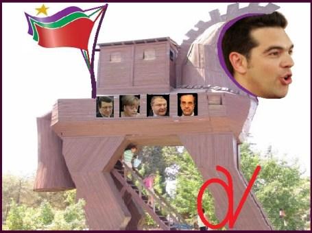 ΤΣΙΠΡΑΣ -ΔΟΥΡΕΙΟΣ ΙΠΠΟΣ