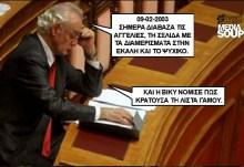 Το ημερολόγιο του Άκη — Απαγγελία: Άκης Τσοχατζόπουλος