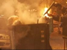 Ξάνθη: Ο κάδος έπαιρνε φωτιά… και αυτός πετούσε σκουπίδια!