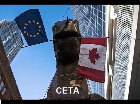 CETA -ΟΙΚΟΝΟΜΙΚΗ ΕΜΠΟΡΙΚΗ ΣΥΜΦΩΝΙΑ ΚΑΝΑΔΑ -ΕΕ