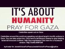 Διαμαρτυρίες διασήμων (Εβραίων και μη) ΚΑΤΑ των δολοφονικών σιωνιστικών βομβαρδισμών της Γάζας