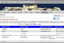 Διαδικτυακή Συλλογή Υπογραφών για τις Γερμανικές Αποζημιώσεις — Συμμετέχουμε