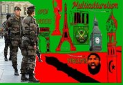 Ένας άλλος στρατιώτης μαχαιρώθηκε προφανώς από ΓΝΗΣΙΟ Βορειο-Αφρικανό μουσουλμάνο … αυτή τη φορά στο Παρίσι….