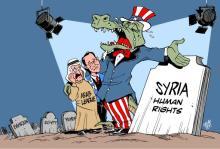 Τα σκοτωμένα ανθρώπινα δικαιώματα στη Συρία και σε άλλες Αραβικές χώρες και η υποκρισία της αμερικανόδουλης «Human Rights»