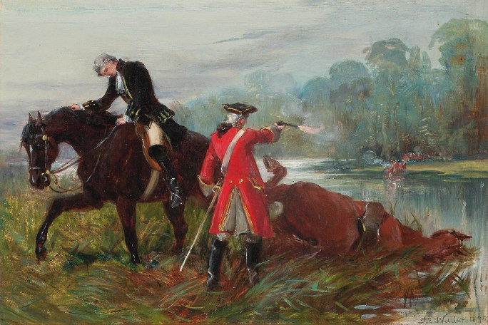 The Steeds of Culloden T Spoon Phillips(samuel_edmund_waller_after_culloden)