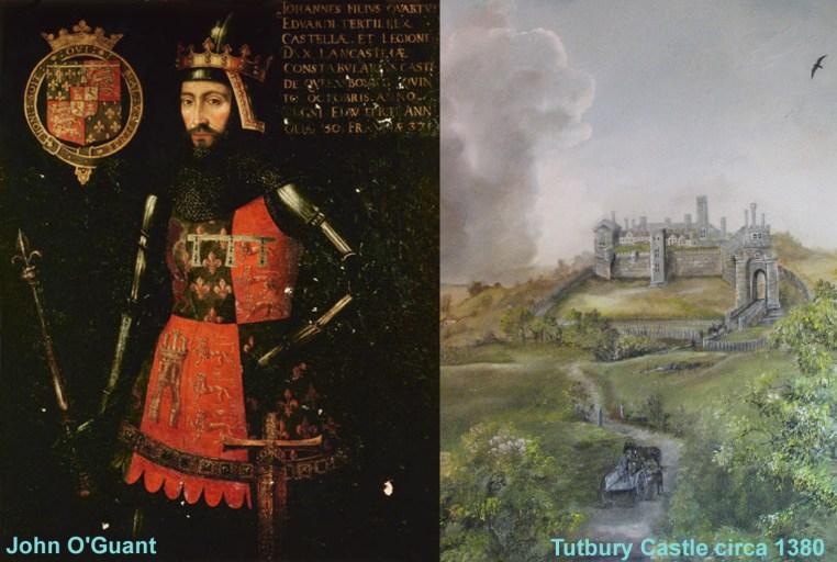 The White Lady of Tutbury - John O'Gaunt - Lucie Robinson