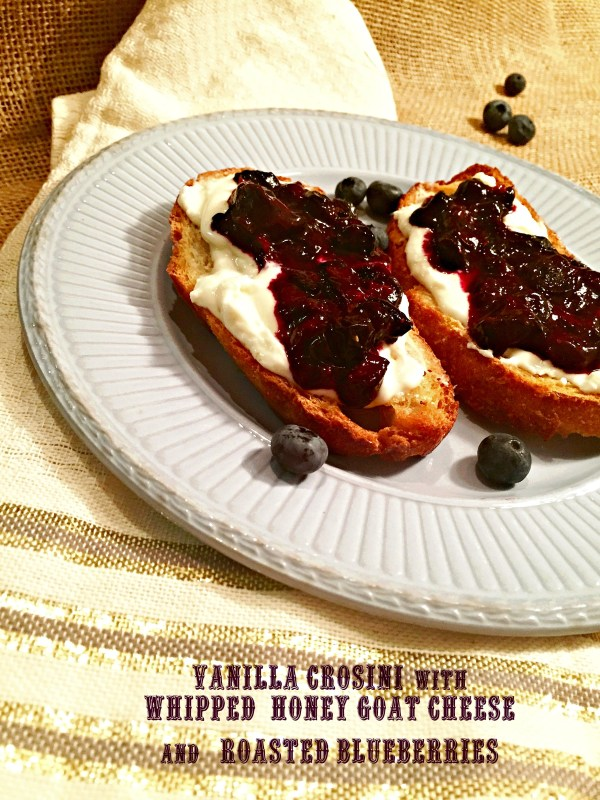 blueberry crostini with text
