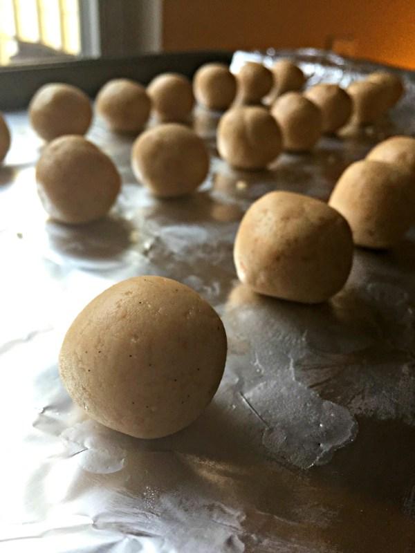 undipped balls