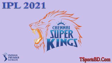 CSK Match Schedule 2021