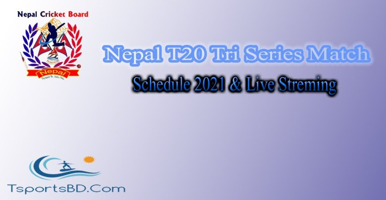 Nepal T20 Tri Series Match