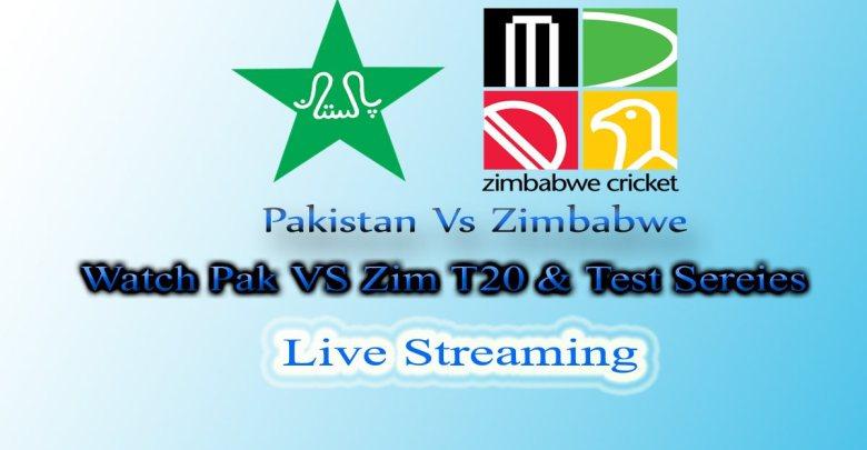 Pakistan Tour Zimbabwe Match Schedule