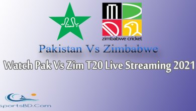 Pakistan Vs Zimbabwe T20 Live