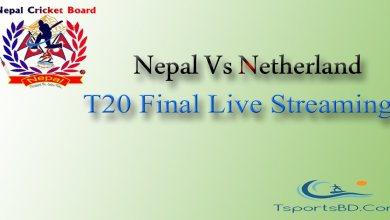 Nepal Vs Netherland Final Match 2021