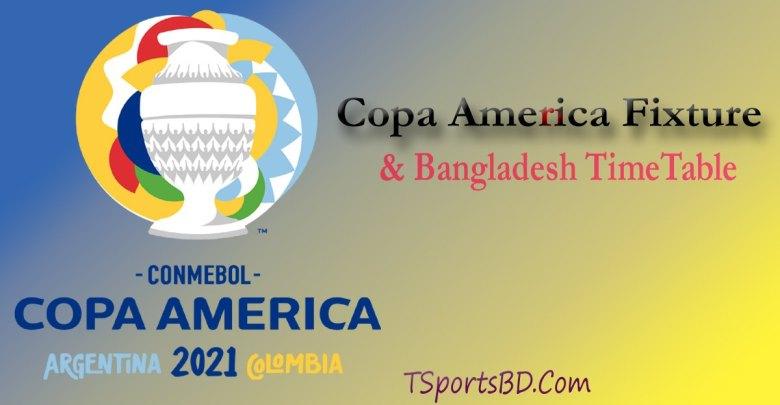 Copa America Schedule BAngladesh Time