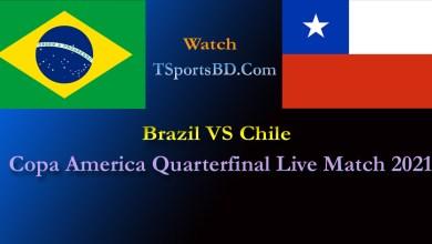 Brazil VS Chile 2021