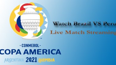 Brazil VS Peru Live