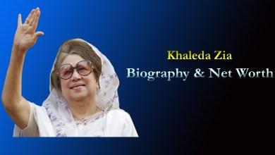 Khaleda Zia- Net Worth