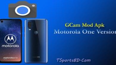 Motorola One Vision Gcam