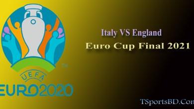 Euro Italy VS England Live
