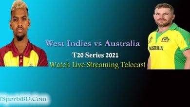 West Indies vs Australia Live