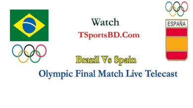 Brazil vs Spain Final Match Live