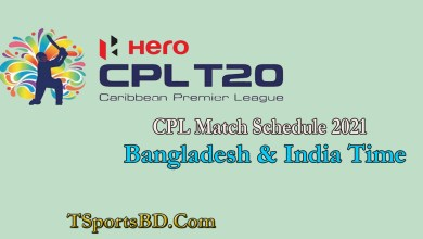 CPL Match Fixtures