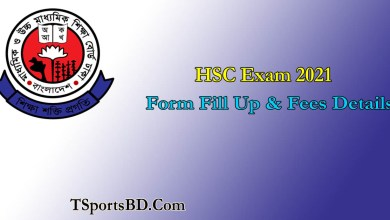 HSC Form Fill up 2021