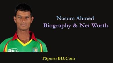 Nasum Ahmed Biography,