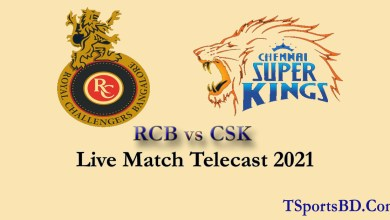 RCB vs CSK Live Streaming Online
