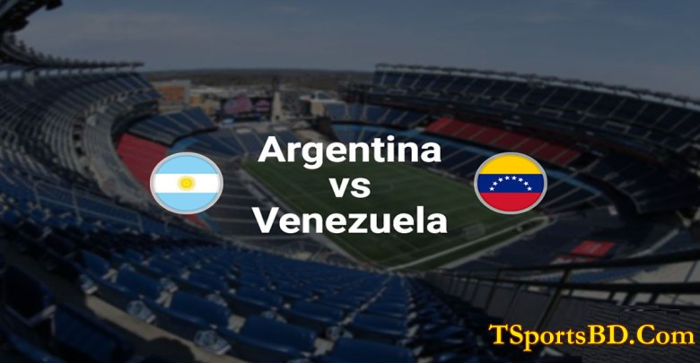 Venezuela vs Argentina Live