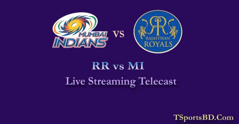 RR vs MI Live