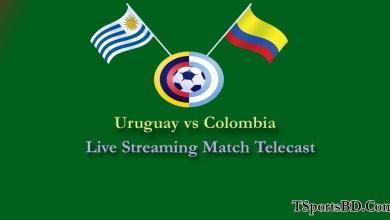 Uruguay vs Colombia Live