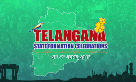 Telangana State Formation Day Celebrations : June 2 – 7, 2015