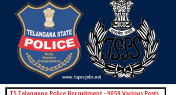TS Police Notification 2015