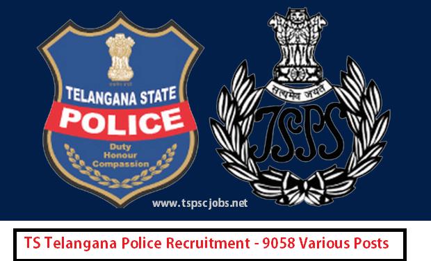 Telangana TS Police Recruitment Notification 2016-17 : New Updates