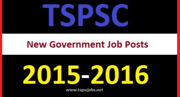New TSPSC 39 Job Posts
