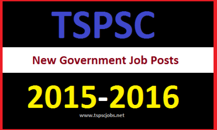 Newly added 39 TSPSC Government Posts Group Cadre Services