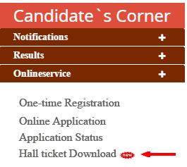 Download TSPSC Exam Hallticket , Admit Card