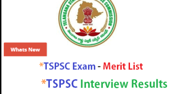 Latest TSPSC Exam updates