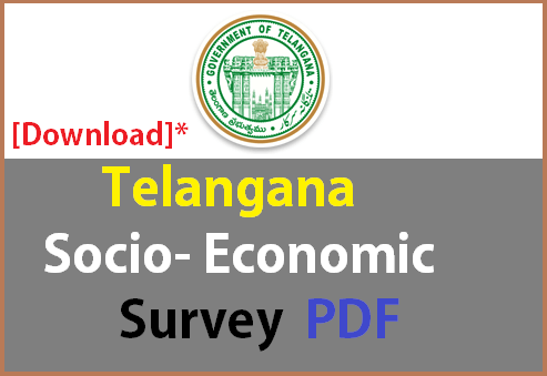 Download Telangana-SocioEconomic Survey pdf