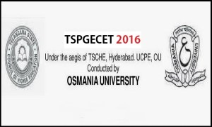 TSPGECET Notification 2016