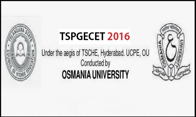 TSPGECET 2016 Notification Online Application – Apply now