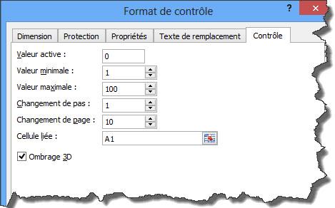 Format barre defil