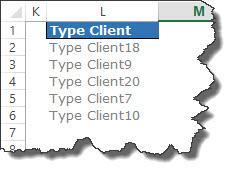 liste client