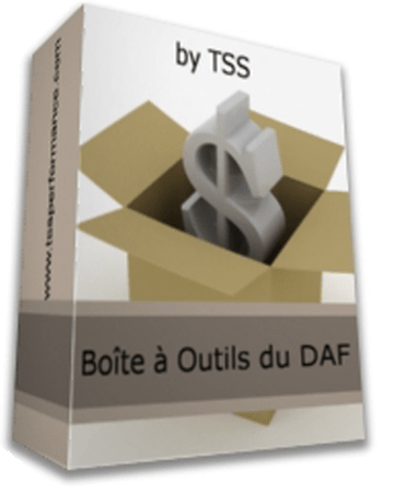 Boite à outils DAF Gold star