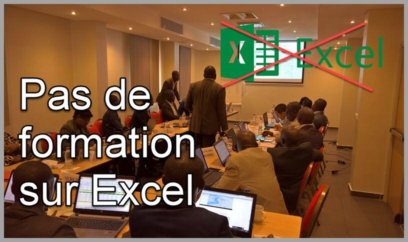 Voici les raisons que me font dire que les formations sur Excel tout court ne sont pas pertinentes