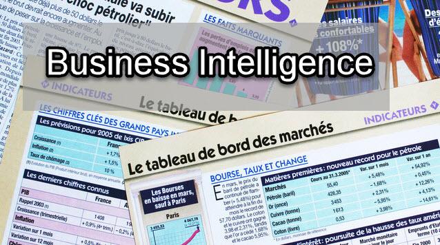 Voici le programme (vidéo) de ma formation en business intelligence