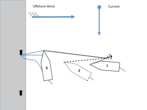 Berthing wind offshore